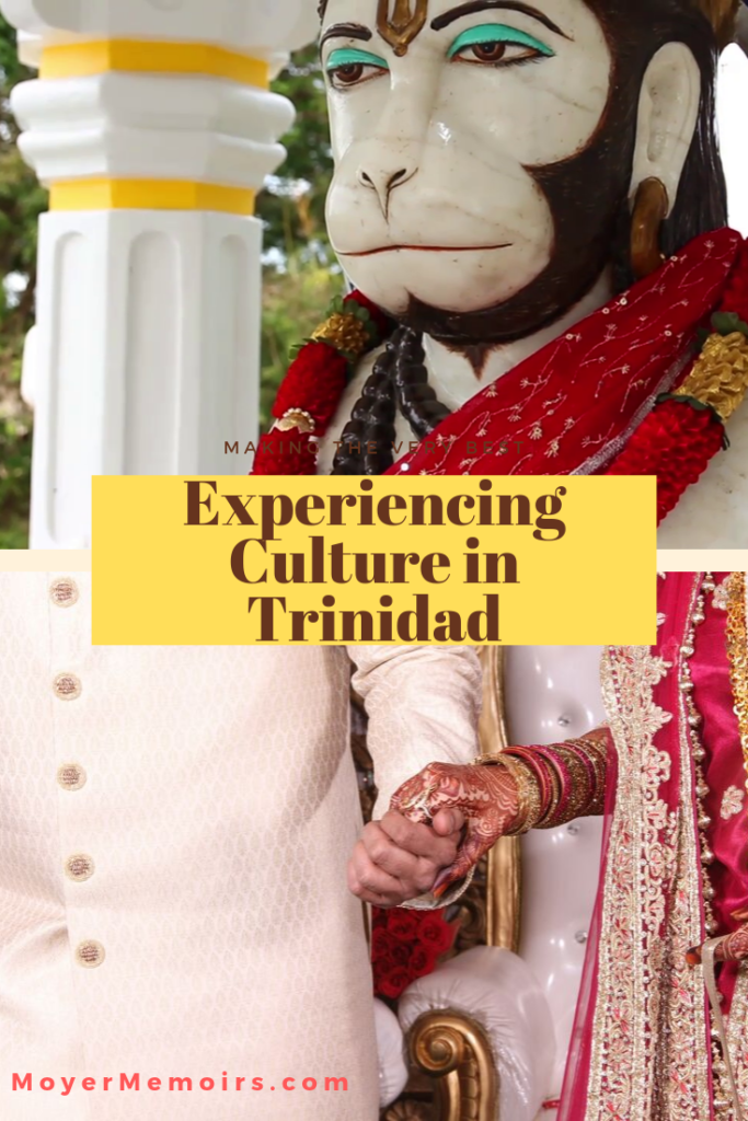 Learn about the customs and culture in Trinidad as we take a vacation to this southern Caribbean Island to prepare for and participate in a Hindu Wedding. Trinidad street food / Maracas Beach / travel to southern Caribbean / Hindu wedding / wedding preparations / what to wear in an Indian wedding / how to buy traditional Indian clothing for your first Hindu wedding / Travelling to Trinidad / Things to do in Trinidad / Trinidad vacation / #Trinidad # Hindu Wedding""