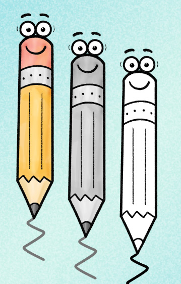 Preparing for --and WINNING--Scholarship Applications 3 worksheet clip art Colors