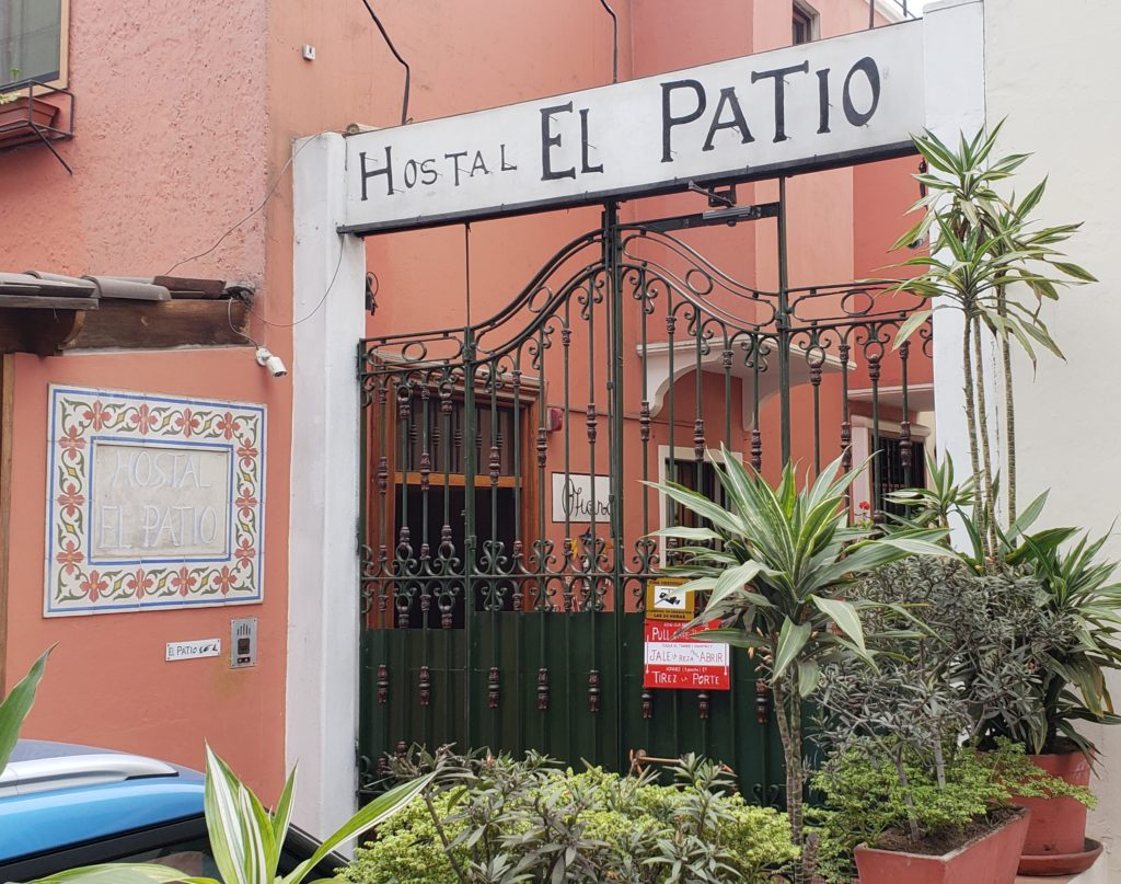El Patio Hostal, Lima, Peru