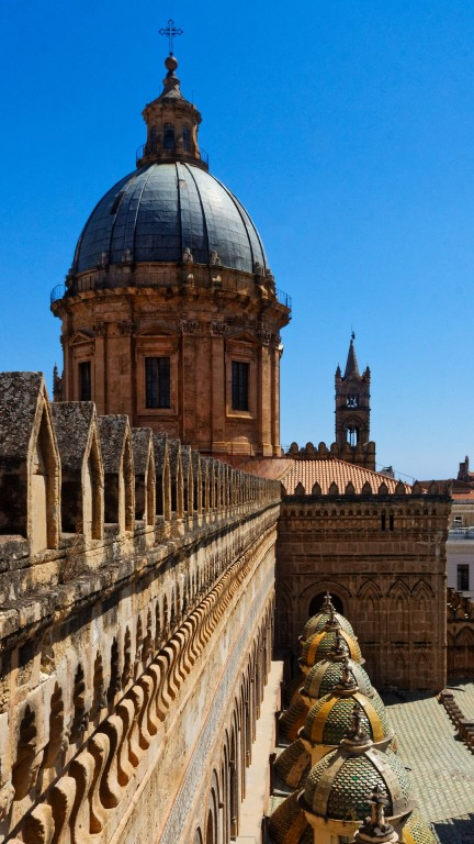 Rooftop of Palermo Cathedral