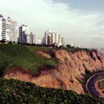 Lima Peru - Beach view