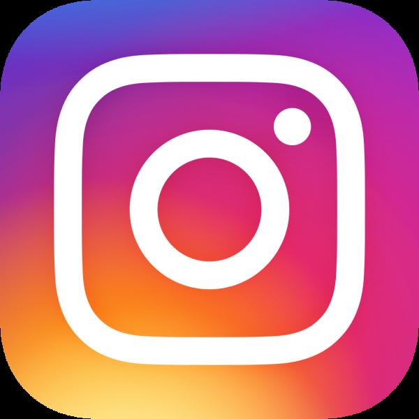 Instagram logo button