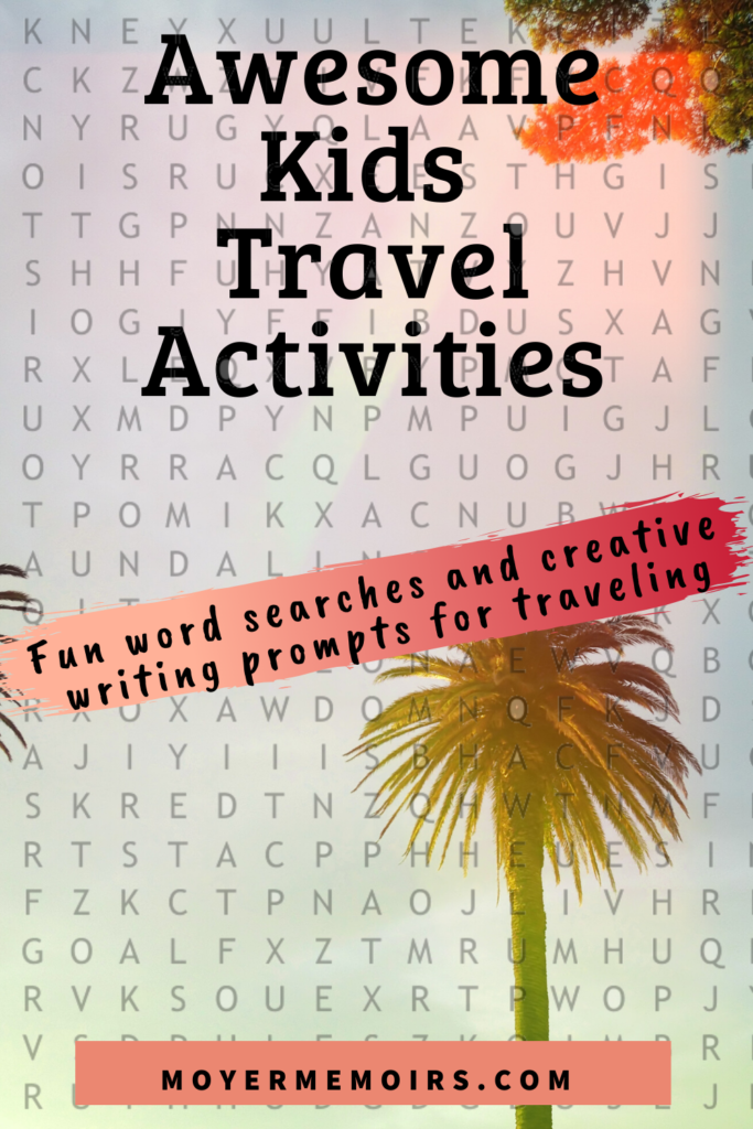Best Travel Themed Board Games for the Whole Family When Stuck at Home 13 Word Search 2