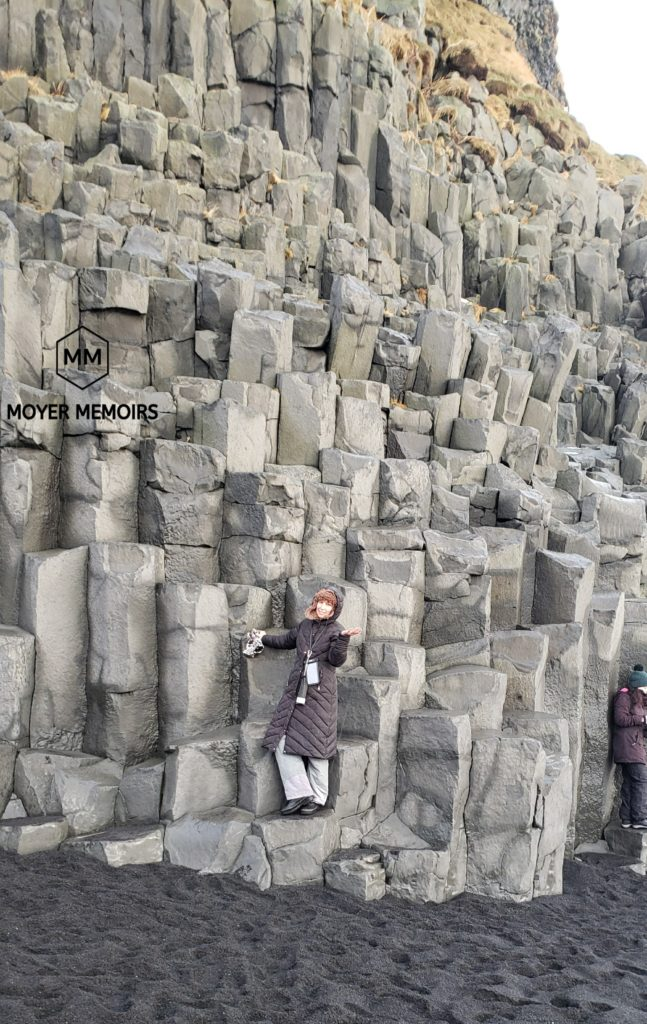 Iceland Ring Road Trip: 12 Awesome Attractions in Southern Iceland 1 Black Sand Beach basalt columns iceland
