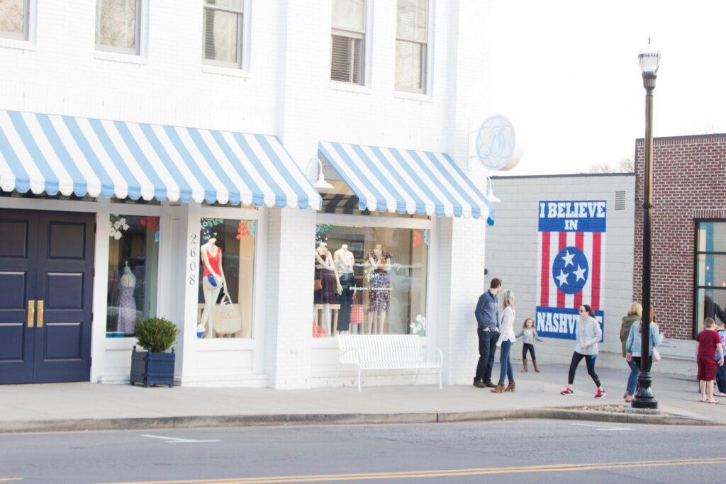 shops along 12 south in Nashville