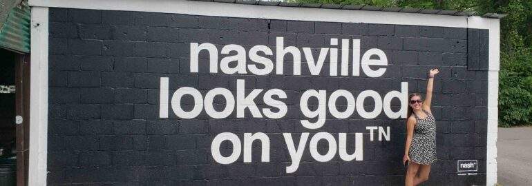 nashville looks good on you - posing for picture