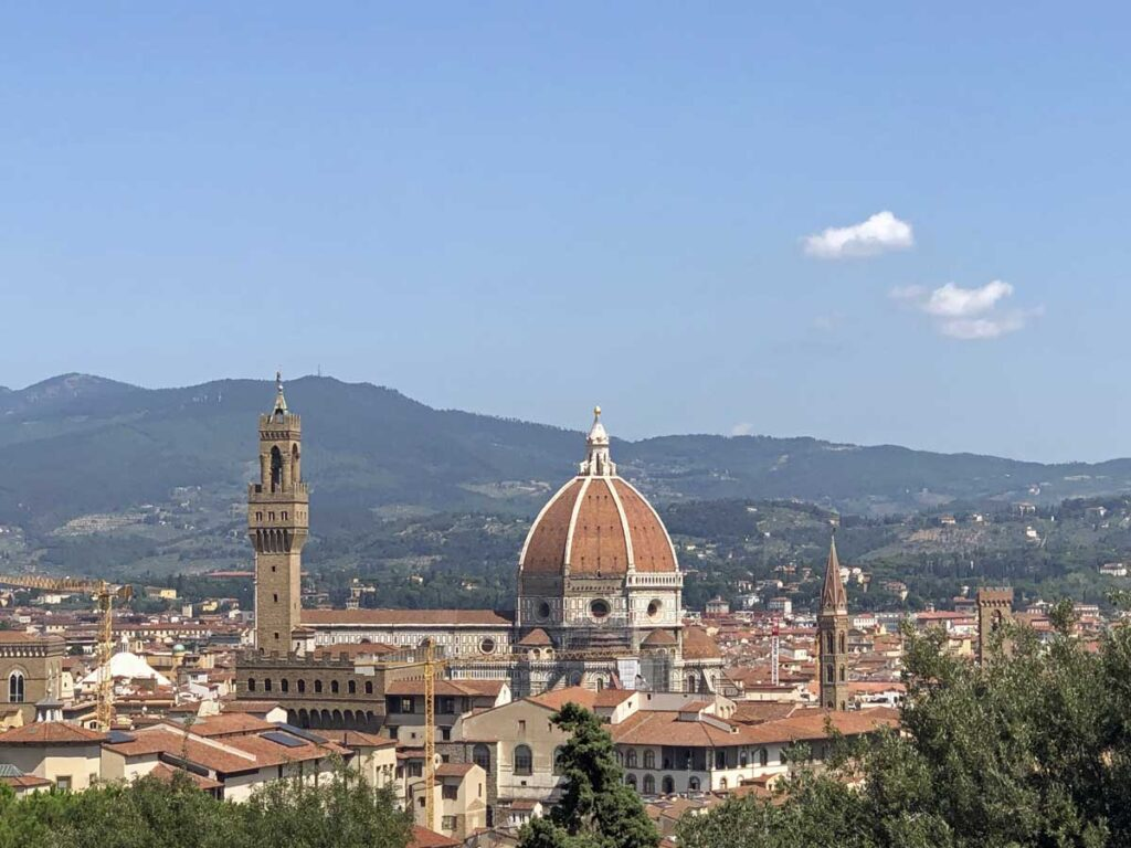 florence italy for 50th birthday trip idea