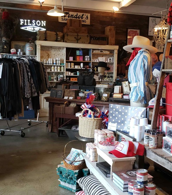 mercandise in whites mercantile shop on 12 south in nashville