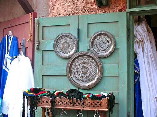 Hidden mickey in Morocco