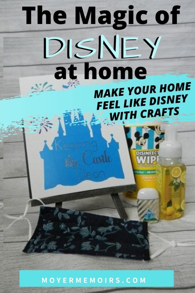 Make your home feel like Disney with 3 easy craft projects for all ages when you are stuck at home & can't travel to Disney with these Disney craft ideas & Disney crafts to sell / Disney at home / virtual travel ideas / disney crafts ideas projects / cricut vinyl projects wall decorations / Mickey mouse vinyl wall decoration / vinyl wall stickers / vinyl wall art / easy disney art to draw / vinyl decal stickers / vinyl decal ideas / vinyl decals cricut / Disney decals / Disney stickers disney