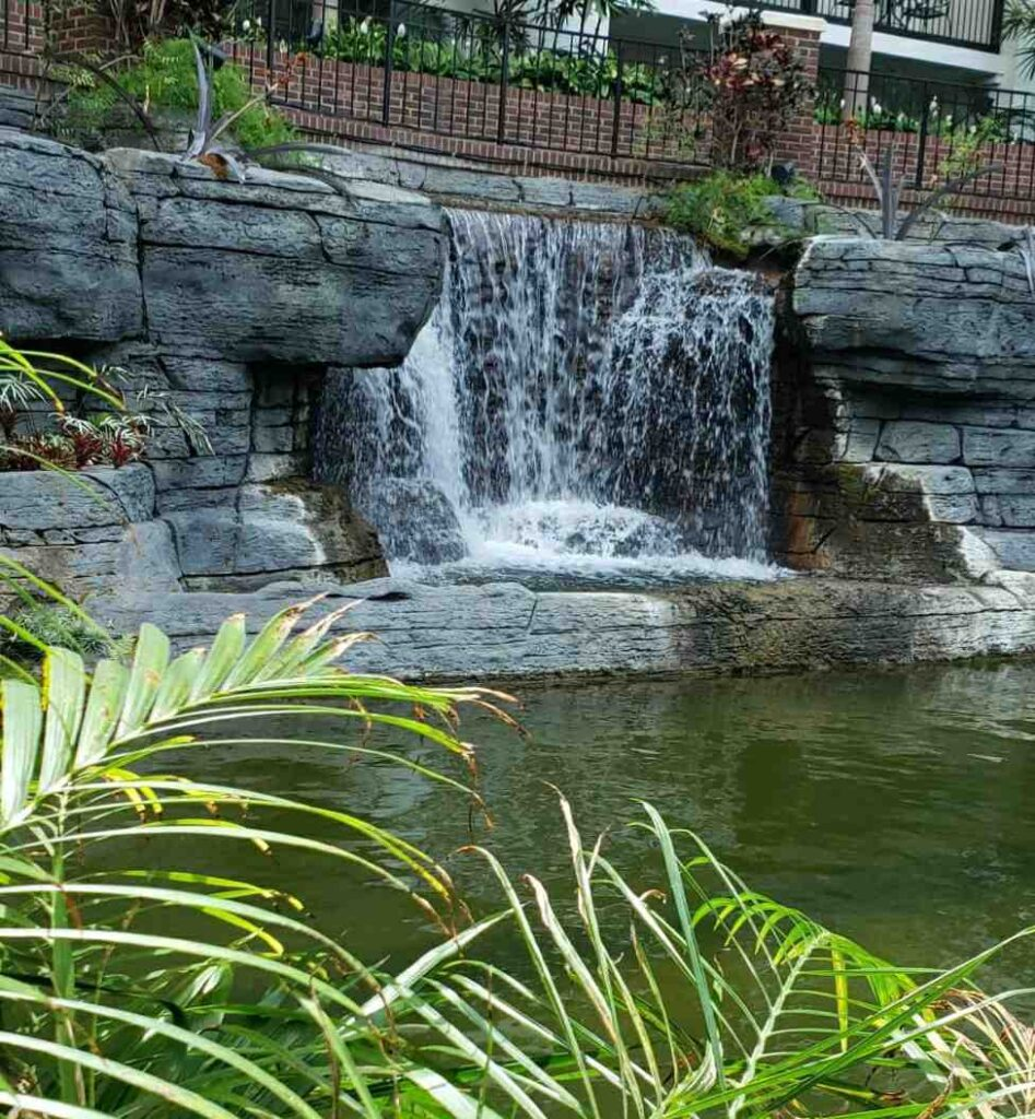 Opryland Garden Resort Waterfall