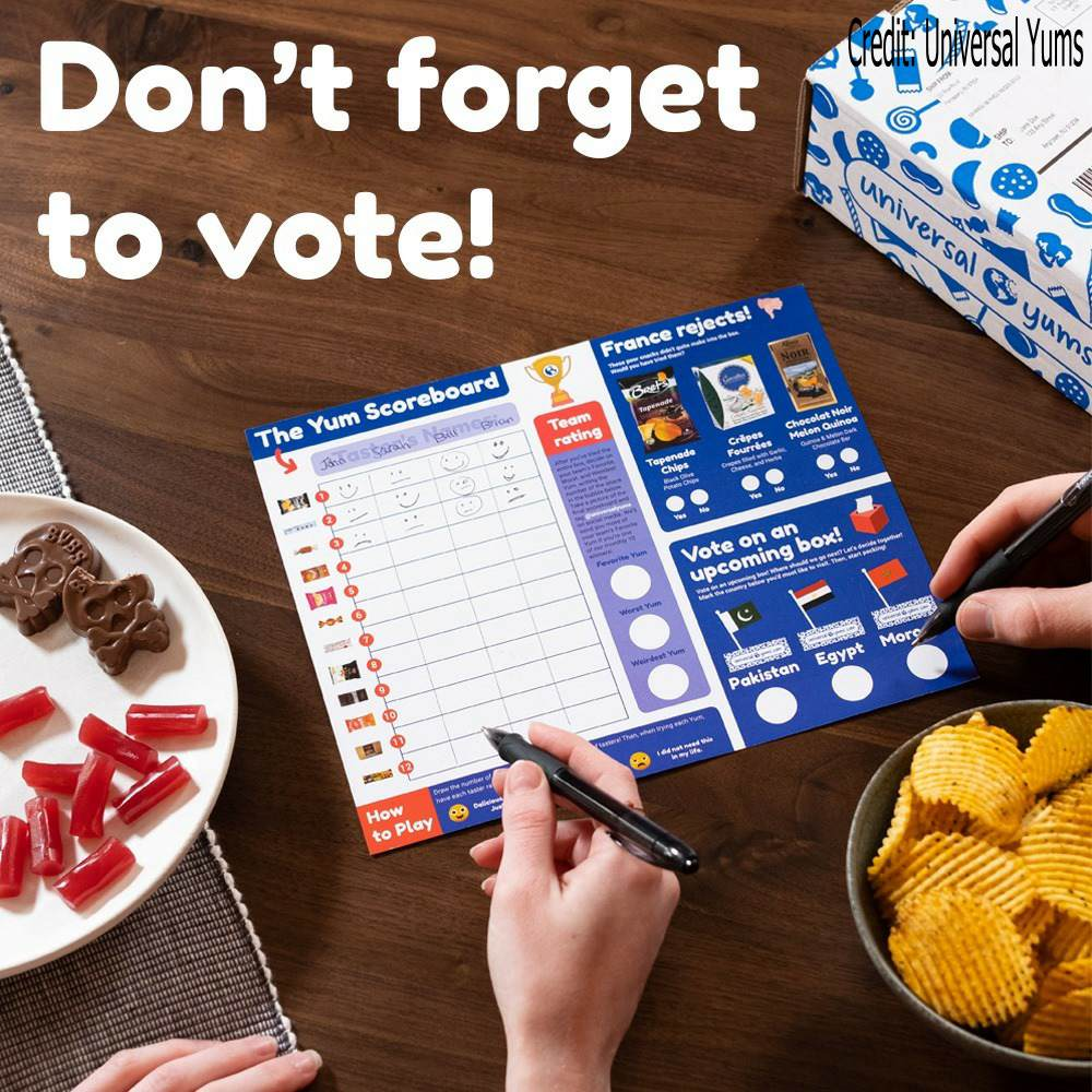 dont forget to vote for favorite snacks