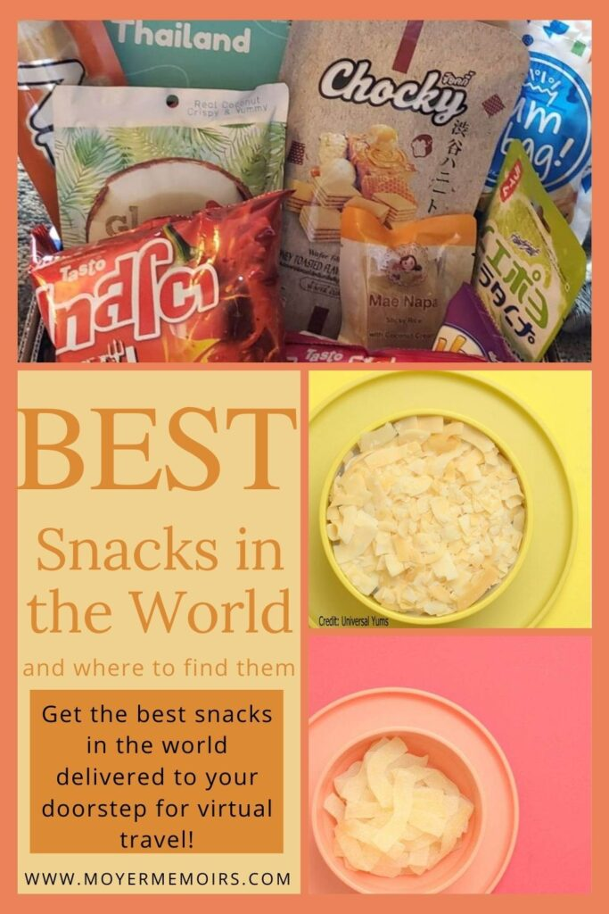 When you are stuck at home, get some snacks from around the world to satisfy your Wanderlust! GREAT PARTY GAME FOR LARGE GROUPS!! #sponsored. International snacks from around the world kids. International snacks from around the world for kids. Snacks around the world for kids. Universal Yums subscription boxes. Universal Yums video. Universal Yums UK. Virtual Travel ideas. Virtual travel around the worlds. International food fair. Party game ideas for adults. activities for large groups.