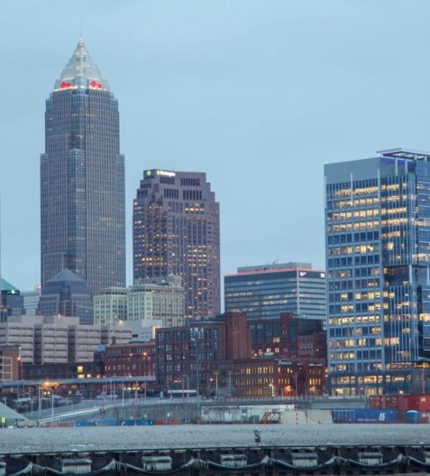 Downtown Cleveland buildings