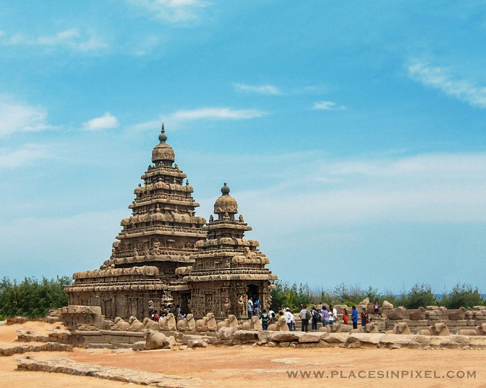 Shore Temple in India - one of the most beautiful Hindu Temples in the world