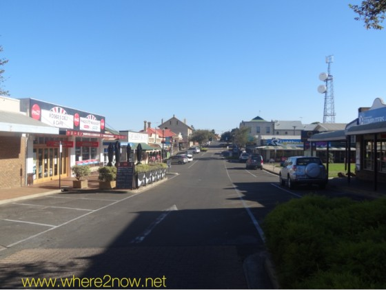 streetview of buildings in the little town of Kingscote on Kangaroo Island