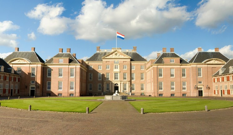 the netherlands palace front view