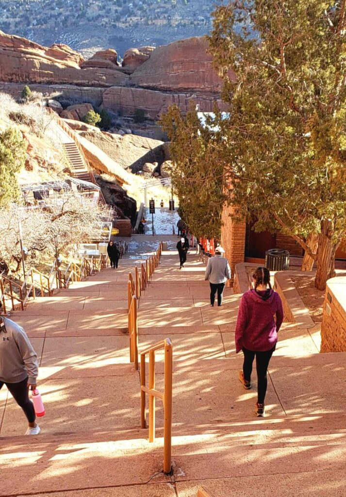 Red Rocks Amphitheatre Stairs