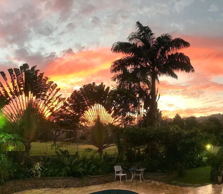 sunset view in Trinidad and Tobago