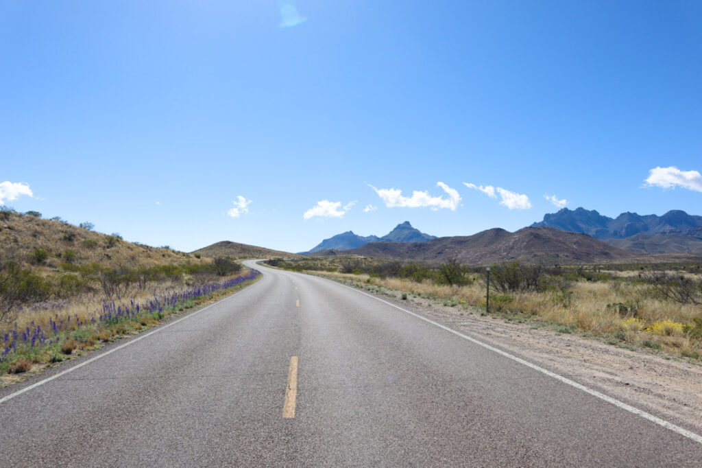 driving to Big Bend National Park for a relaxing Empty Nest Vacation