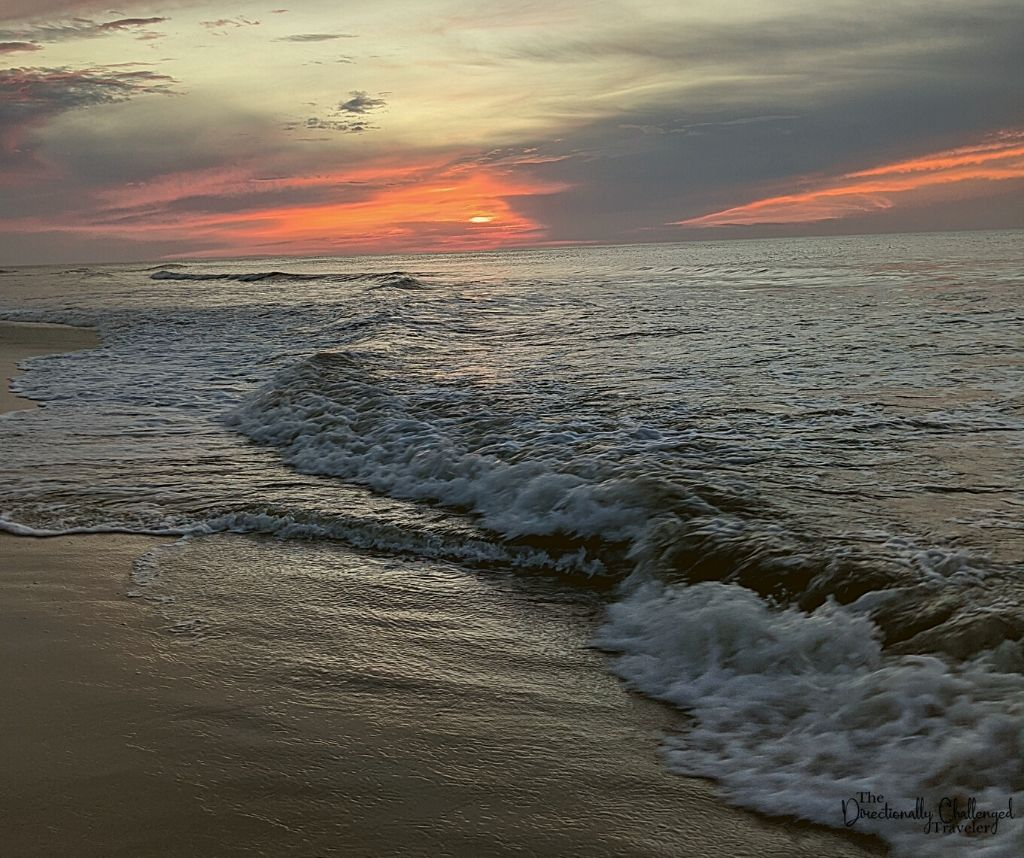 Chincoteague Sunrise- relaxing US vacation idea for empty nesters