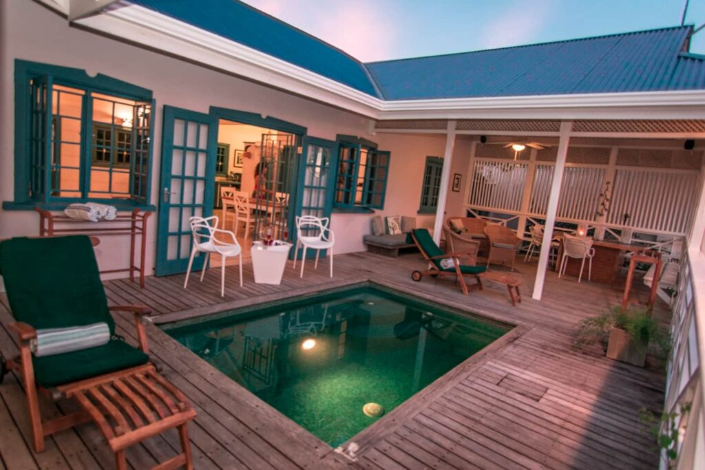 pool and deck at Licorish by the sea -Guest Houses in Trinidad