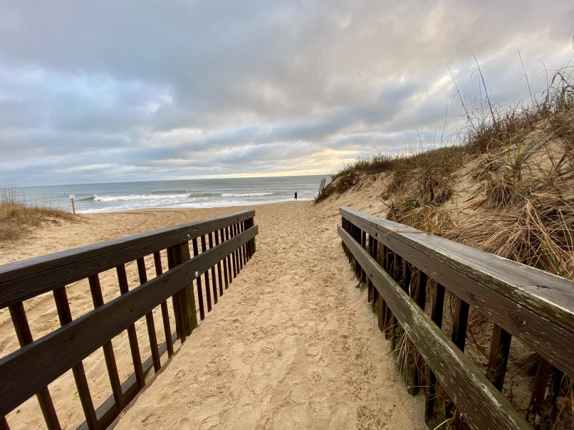 Outer banks US empty nest trip to the beach