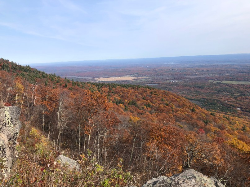 fall forest scenery in the catskills on an empty nest usa bucket list trip