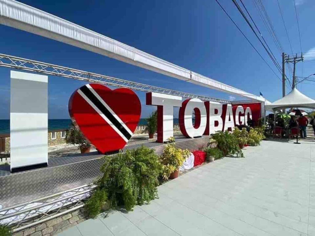 i love tobago sign