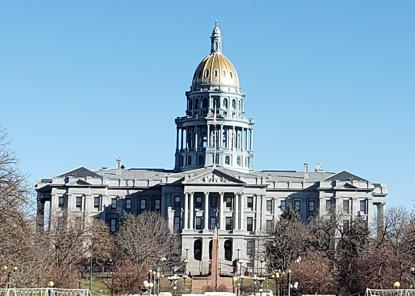 view of Colorado State Capitol seen on a tour of 1 day in Denver