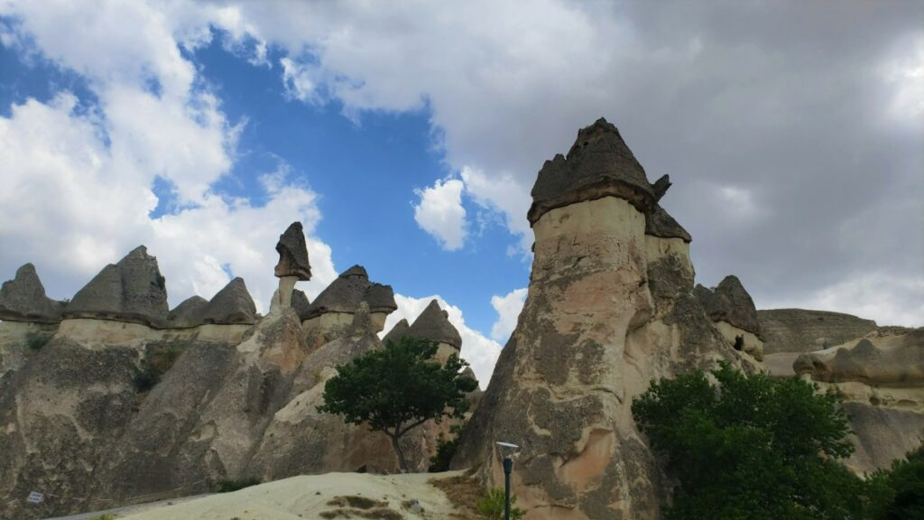 view of landscape in Monks Valley on a 2 day trip in Cappadocia