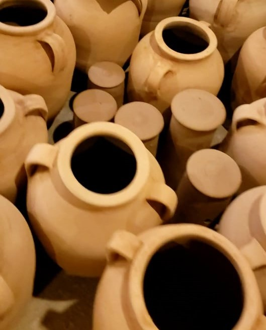 Red clay pottery for a Turkish souvenir