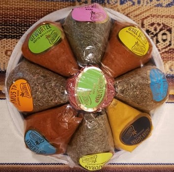Turkish spices - great gift from Turkey