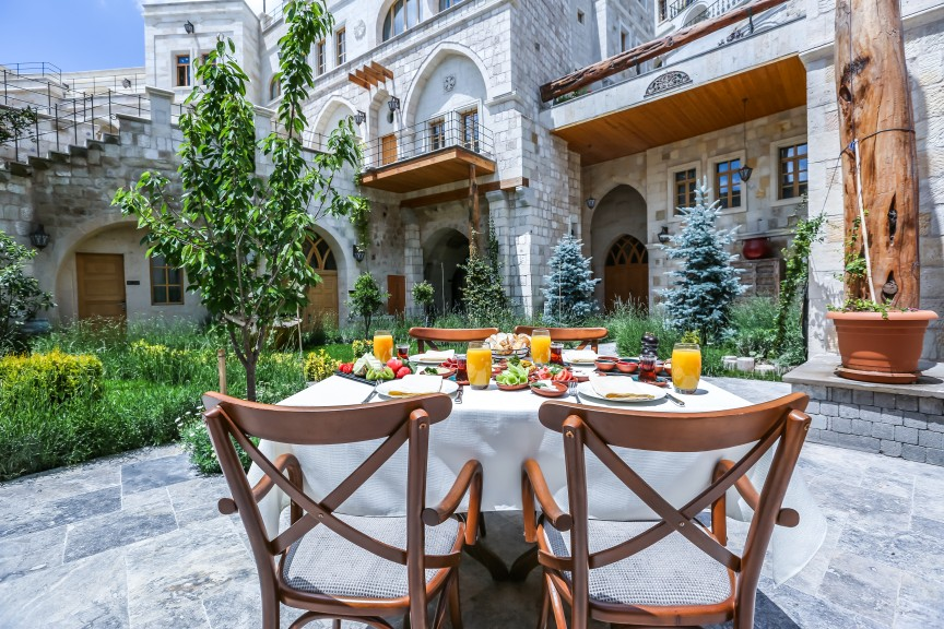 One of the Best Small Group Tours of Turkey: Group Tours are the way to go! 1 breakfast at Exedra hotel in Cappadocia Turkey